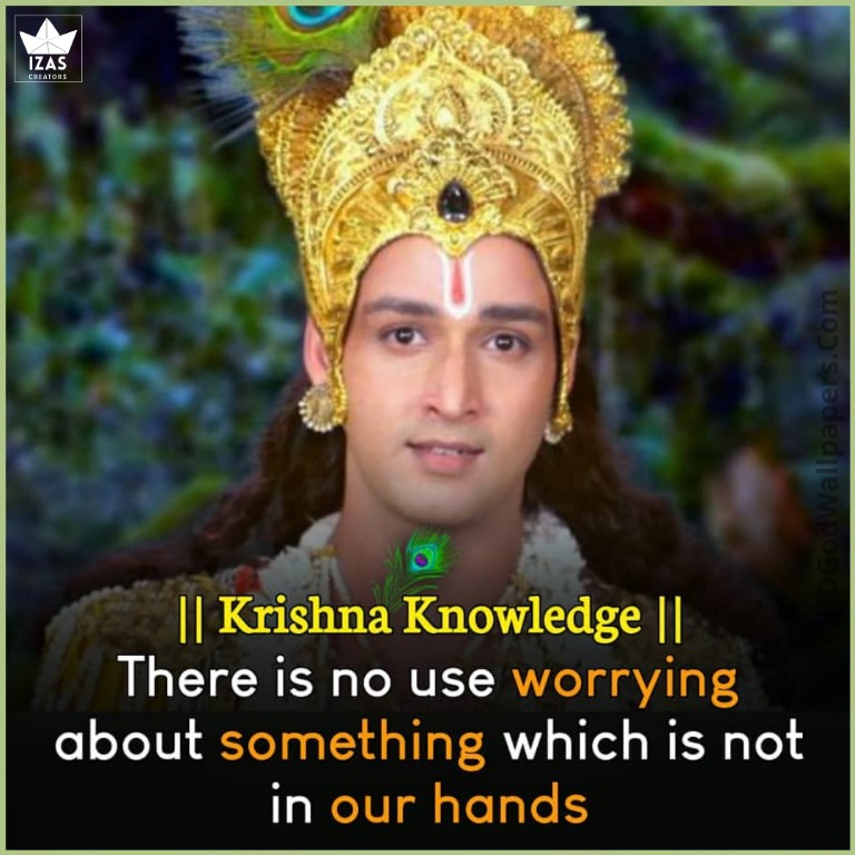 krishna images with quotes in english