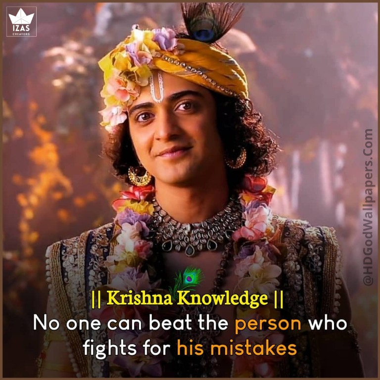 krishna serial images with quotes in english