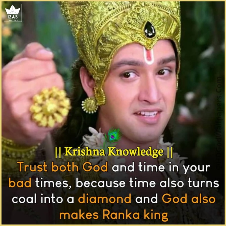 lord krishna images with quotes in english