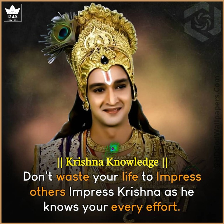 motivation quotes in English by shree krishna