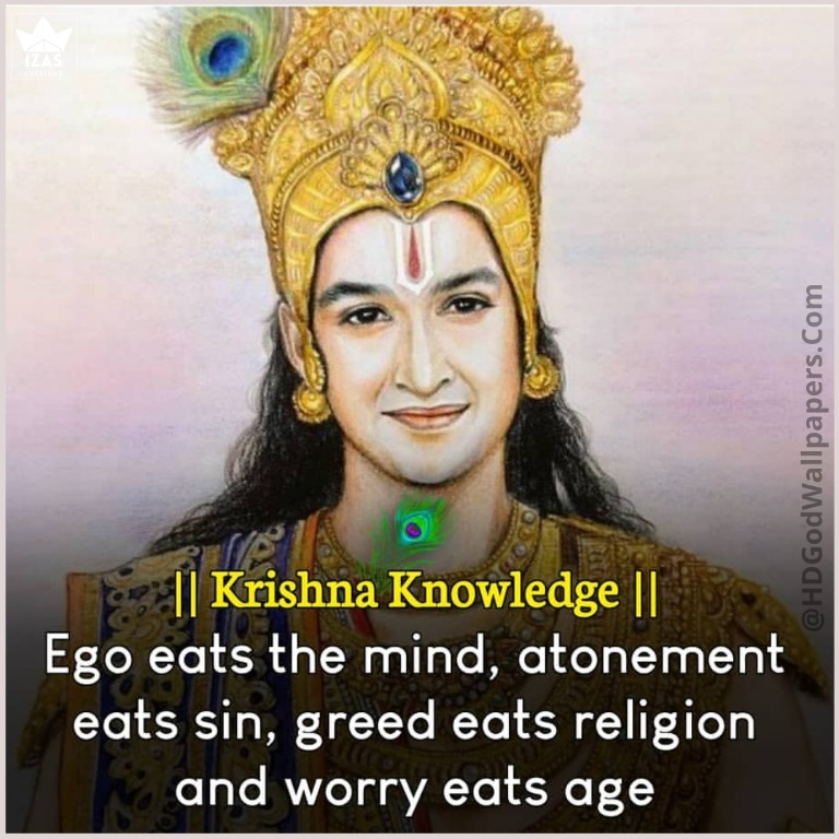 motivational quote about life by shree Krishna in english