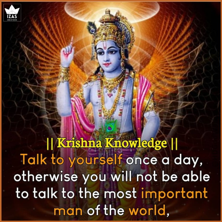 wise wording quotes on lord krishna in english