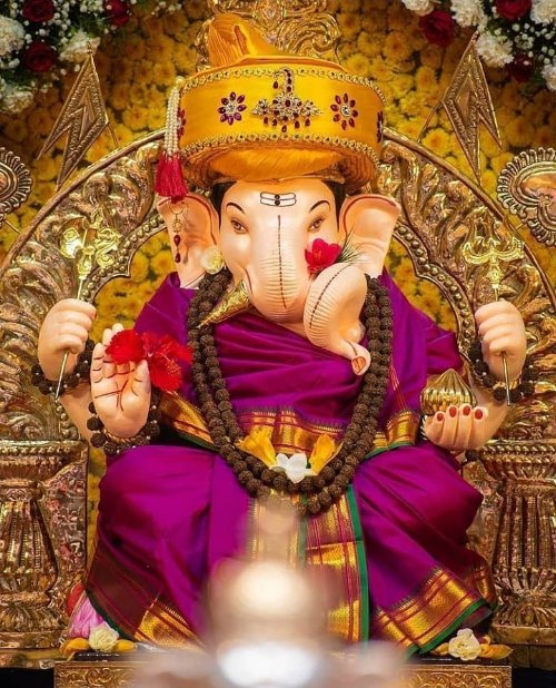 Shree Ganesha Ji HD Wallpapers for Mobile Cover Picture